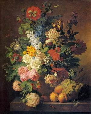 Famous paintings of Fruits: Flower Still-Life 1811