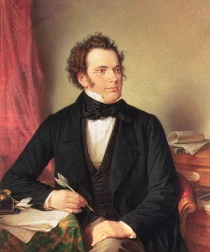 Academic Classicism painting reproductions: Franz Peter Schubert 1797-1828