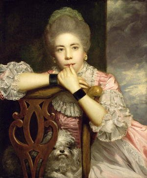 Reproduction oil paintings - Sir Joshua Reynolds - Mrs Abington as Miss Prue in Congreves Love for Love, 1771