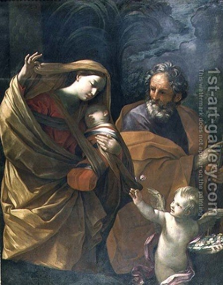 The Flight into Egypt by Guido Reni - Reproduction Oil Painting