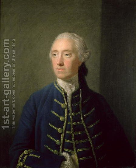 James Fitzgerald 1722-73 20th Earl of Kildare by Allan Ramsay - Reproduction Oil Painting