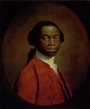 Famous paintings of Black Art: Portrait of an African, c.1757-60