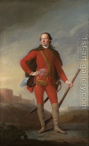 Portrait of Charles, 5th Earl of Elgin, c.1754 by Allan Ramsay - Reproduction Oil Painting