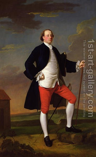 John Manners, Marquess of Granby, 1745 by Allan Ramsay - Reproduction Oil Painting