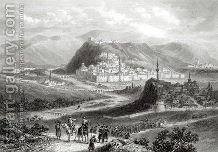 Kars, engraved by J. Godfrey, c.1860 by (after) Ramage, J - Reproduction Oil Painting