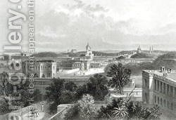 Lucknow, engraved by E.P Brandard, c.1860 by (after) Ramage, J - Reproduction Oil Painting