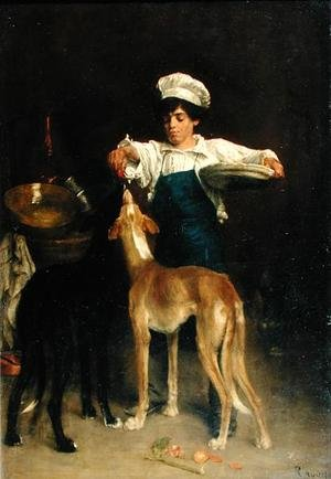 Paul Adolphe Rajon reproductions - The Pantry Boy