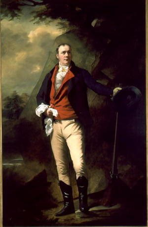 Portrait of Sir John Cunningham d.1822