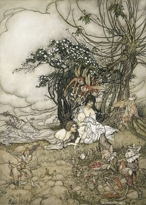 Famous paintings of Fairies: The Changeling, 1905