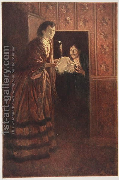 The Secret Room by Howard Pyle - Reproduction Oil Painting