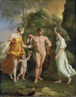 Reproduction oil paintings - Nicolas Poussin - The Choice of Hercules