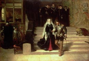 Reproduction oil paintings - Laslett John Pott - Mary, Queen of Scots 1542-87 being led to Execution