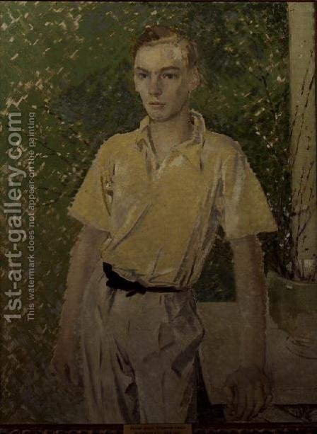 Master Jasper Kingscote, 1933 by Glyn Warren Philpot - Reproduction Oil Painting