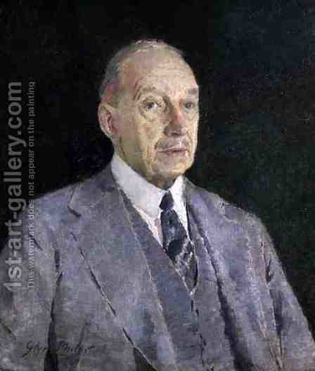 Portrait of Cecil Higgins, 1935 by Glyn Warren Philpot - Reproduction Oil Painting