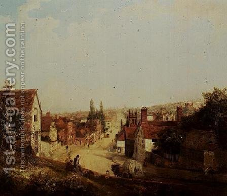 Old Guildford by Henry Pether - Reproduction Oil Painting