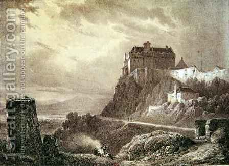 Stirling Castle, engraved by Villeneuve by (after) Pernot, Francois Alexandre - Reproduction Oil Painting