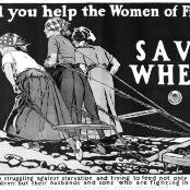 Oil painting reproductions - Art Deco - Edward Penfield: Will you Help the Women of France World War One poster