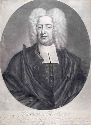 Academic Classicism painting reproductions: Cotton Mather 1663-1728