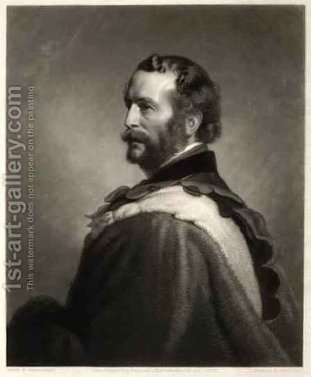 John Rae, engraved by James Scott by (after) Pearce, Stephen - Reproduction Oil Painting