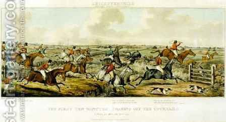 The First Ten Minutes, The Leicestershires, engraved by Henry Alken 1785-1851 1825 by (after) Paul, John Dean - Reproduction Oil Painting