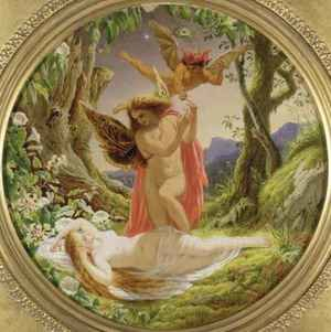 Famous paintings of Fairies: A Midsummer Nights Dream