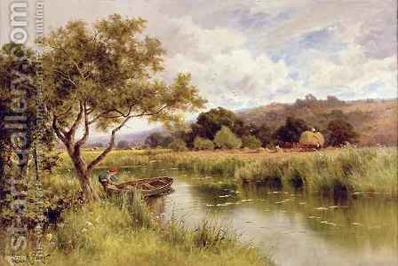 Silent Stream by Henry Hillier Parker - Reproduction Oil Painting