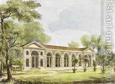 Orangery, Kew Gardens, plate 11 from Kew Gardens A Series of Twenty-Four Drawings on Stone, engraved by Charles Hullmandel 1789-1850 published 1820 by (after) Papendiek, George Ernest - Reproduction Oil Painting