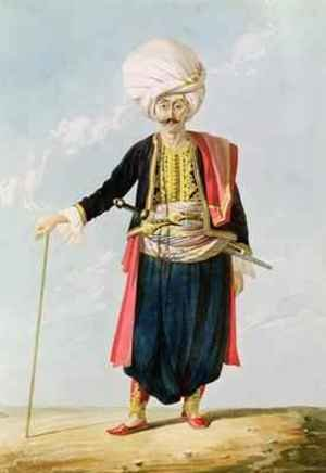 William Page reproductions - A Janissary, c.1823
