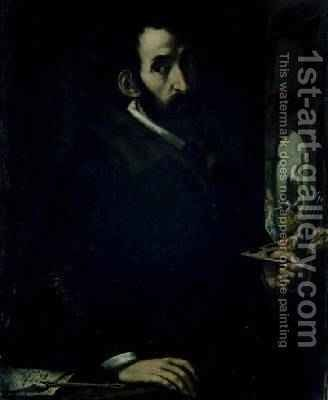 Self Portrait by Gregorio Pagani - Reproduction Oil Painting