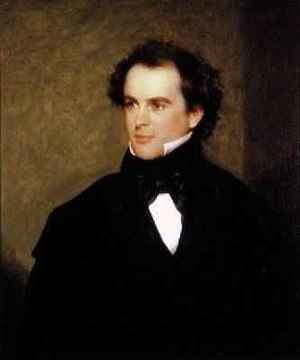 Romanticism painting reproductions: Nathaniel Hawthorne 1804-64 1840