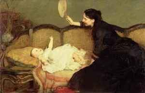 Famous paintings of Furniture: Master Baby 1886