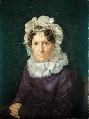 Angel Sophia Hase the Aunt of the Artist 1828