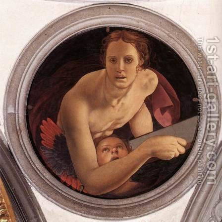 St. Matthew by Agnolo Bronzino - Reproduction Oil Painting