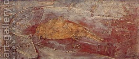 The Dead Bird by Albert Pinkham Ryder - Reproduction Oil Painting