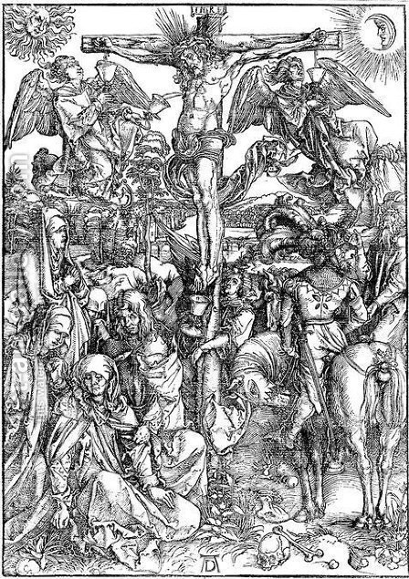 Crucifixion 2 by Albrecht Durer - Reproduction Oil Painting