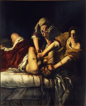 Reproduction oil paintings - Artemisia Gentileschi - Judith Slaying Holofernes