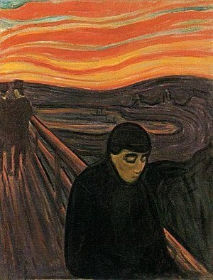 Reproduction oil paintings - Edvard Munch - Despair