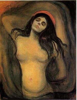 Reproduction oil paintings - Edvard Munch - Madonna