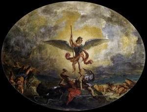 Famous paintings of Devils & Demons: St Michael defeats the Devil