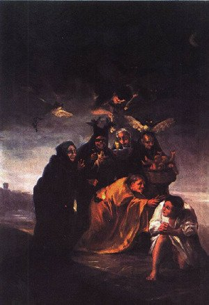 Reproduction oil paintings - Goya - The Conjuration