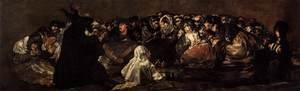 Reproduction oil paintings - Goya - The Great He-Goat