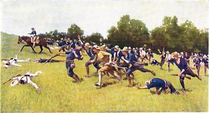 Reproduction oil paintings - Frederic Remington - Charge Up San Juan Hill