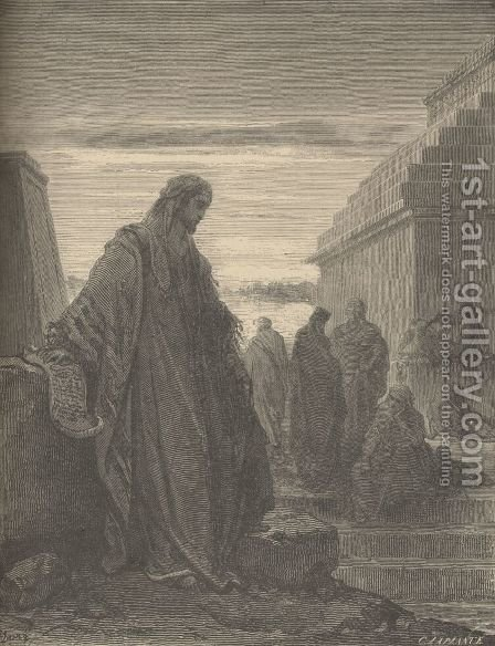 Daniel by Gustave Dore - Reproduction Oil Painting