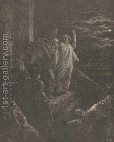 The Deliverance Of St. Peter by Gustave Dore - Reproduction Oil Painting