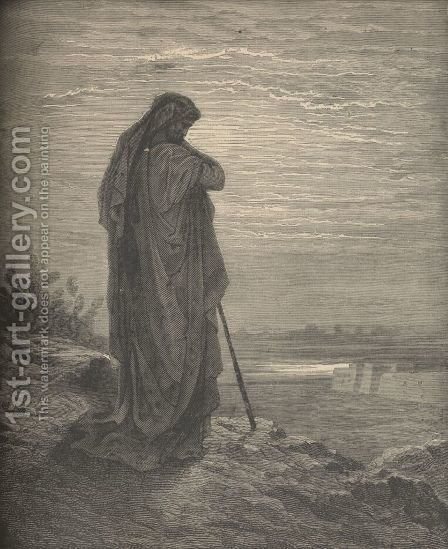 The Prophet Amos by Gustave Dore - Reproduction Oil Painting