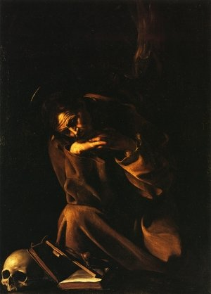 Reproduction oil paintings - Caravaggio - St. Francis