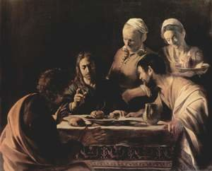 Reproduction oil paintings - Caravaggio - Supper at Emmaus 2