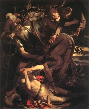 Reproduction oil paintings - Caravaggio - The Conversion of St. Paul