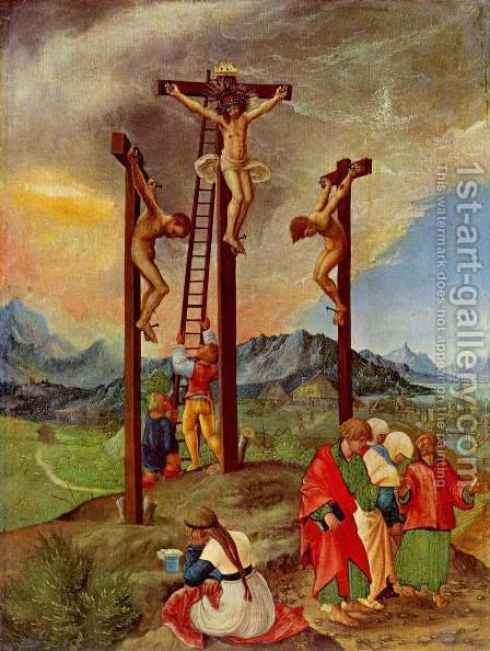 The Crucifixion by Albrecht Altdorfer - Reproduction Oil Painting