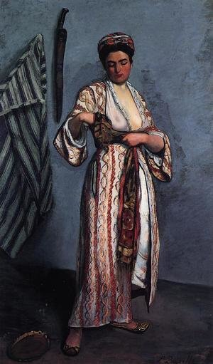 Reproduction oil paintings - Frederic Bazille - Woman in Moorish Costume